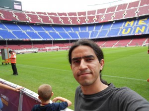 CampNu Stadium, Barcelona, July 2010